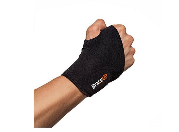 BraceUP® Adjustable Wrist Support, One Size Adjustable