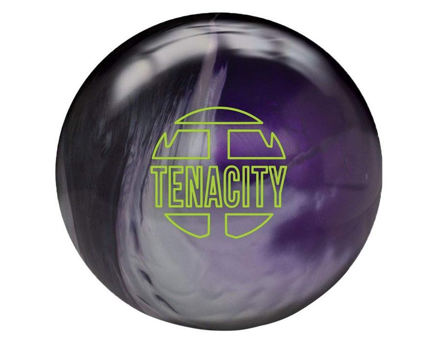Brunswick Tenacity Bowling Ball - Black/Silver/Purple Pearl