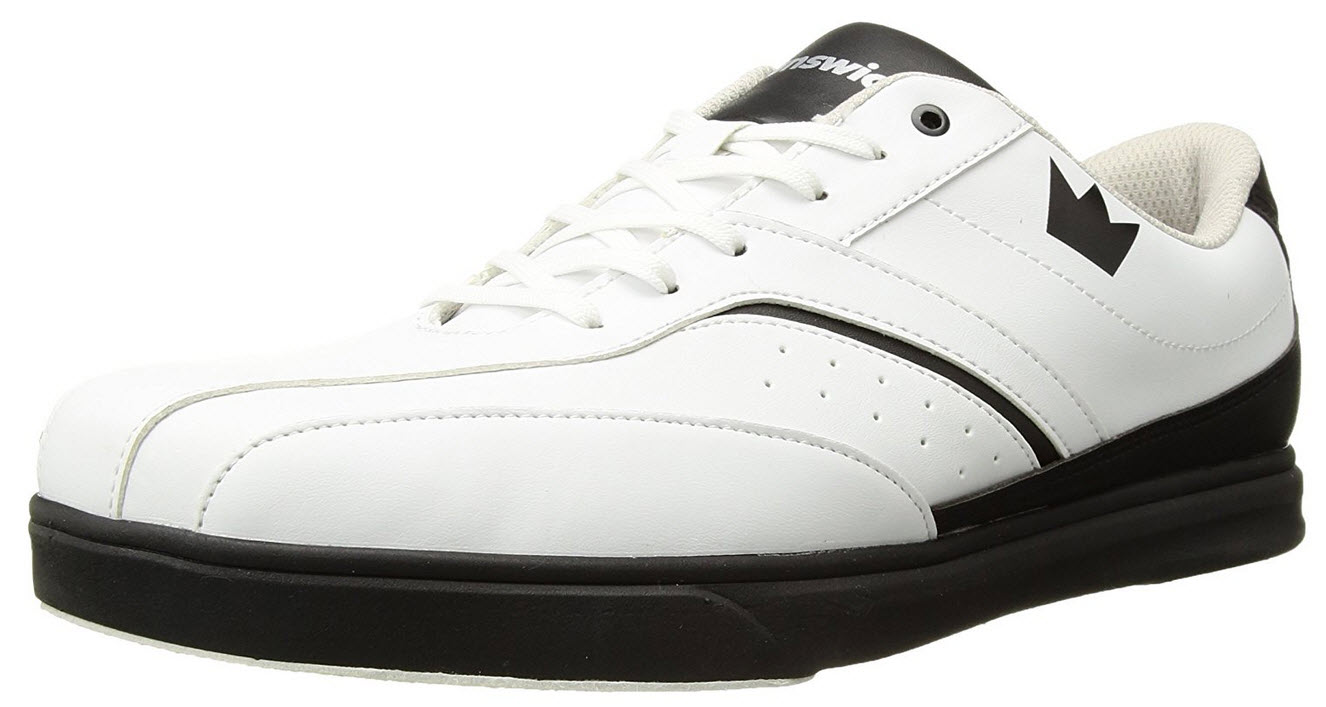 Brunswick Vapor Mens Bowling Shoe White
