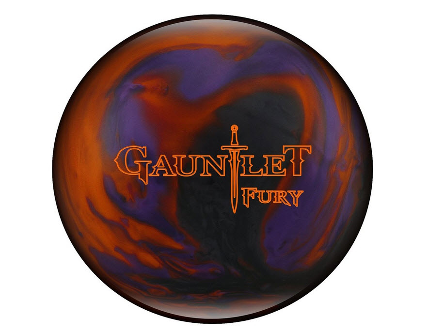 Hammer Gauntlet Fury Bowling Ball- Purple/Smoke/Orange