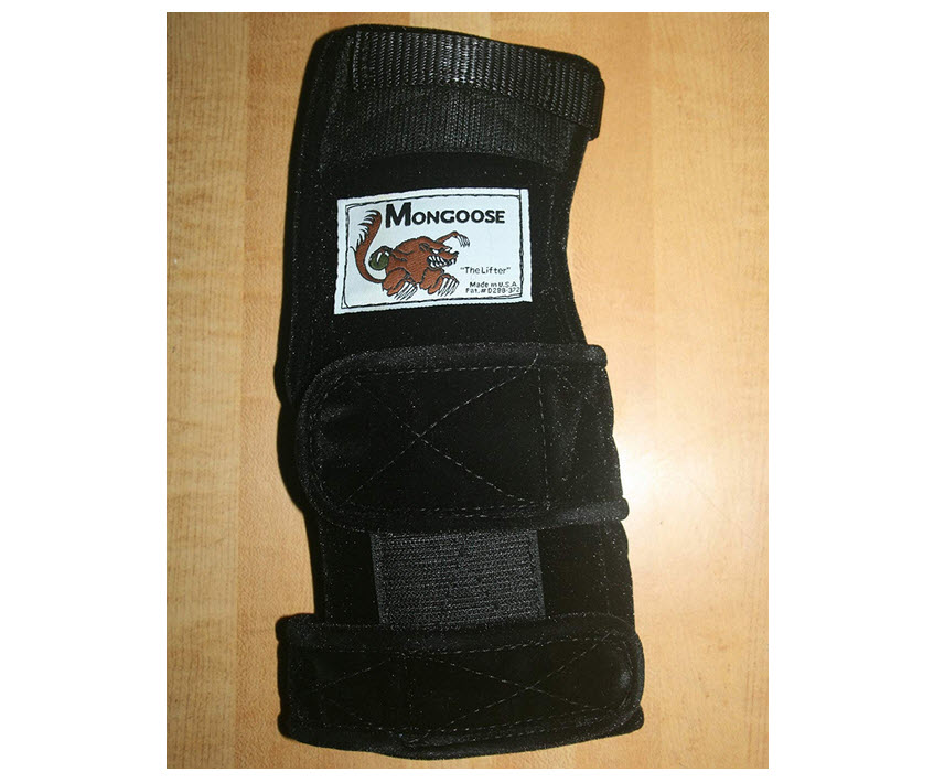Mongoose Lifter Bowling Wrist Band Support Brace Right Hand